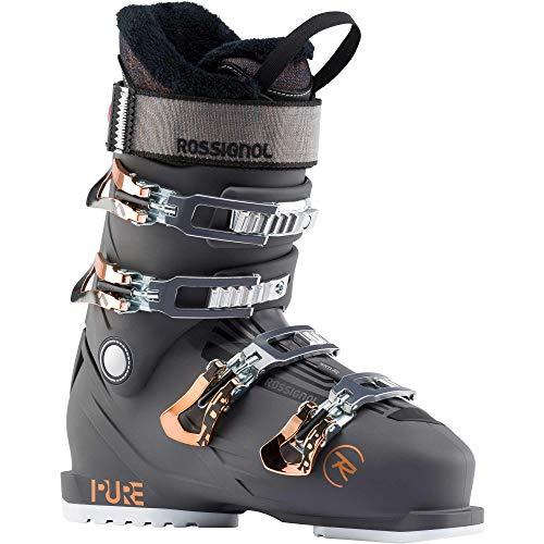 Rossignol Damen Skischuhe Pure Pro Rental, Graphit, Größe 42 2/3, Schwarz, Schwarz , 26.5