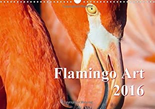 Flamingo Art 2016 UK-Version 2016: Flamingo Art - The absolute eye-catcher in the office and at home (Calvendo Animals)