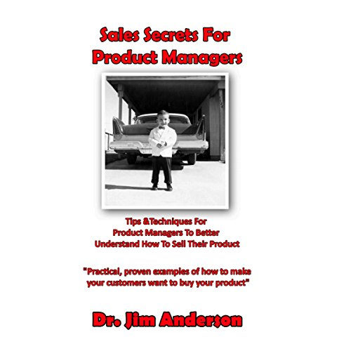 Sales Secrets for Product Managers audiobook cover art