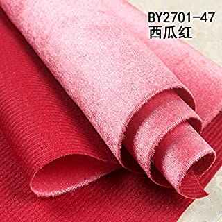Jhyhome Hotel Background Wall Hotel Private Room Wall ktv bar Solid Color Decoration Wallpaper Bed Soft Package Decorative Wall, 2701-48 Watermelon red