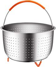 House Again Original Sturdy Steamer Basket for 6 or 8 Quart Pressure Cooker, 304..