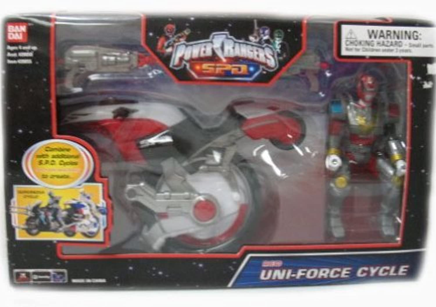 Power Rangers Red UniForce Cycle