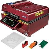 VEVOR Heat Press Multi-Function 3D Sublimation Machine 2800W 3D Vacuum Sublimation Heat Press...