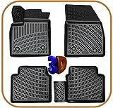 Trimak Alfombrillas de goma 3D para coche, compatibles con Ford Focus 4ª...