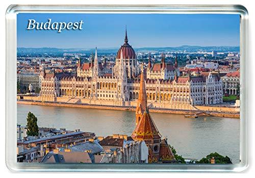 K079 Budapest Jumbo Calamita da frigo Ungheria - Hungary Travel Fridge Magnet
