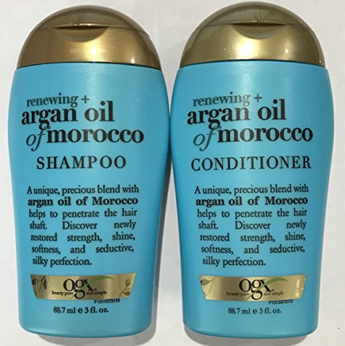 Ogx Renewing Argan Oil of Morocco Shampoo & Conditioner Travel Size - 3