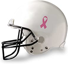 Pink Ribbon Football Helmet Decals (25 Decals In a Bag)
