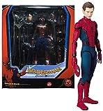 DNSJB Spider-Man - Avengers Superhéroe 15 cm - de la Liga Vengadores de - de articulación móvil Juguetes for niños Regalo de cumpleaños Colección Juguetes