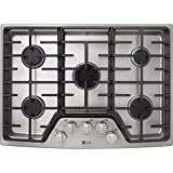 LG Studio Stainless Steel 30' 30 Inch Gas Cooktop LSCG307ST
