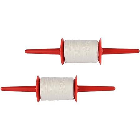 Brown White /Ängo 4-Pack String Line for Kite Flying Black