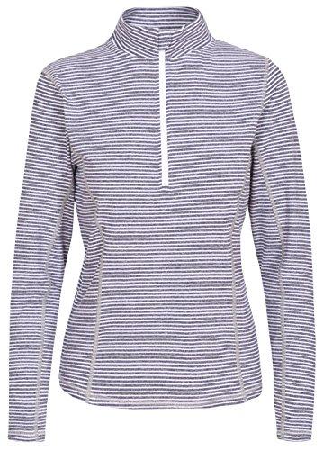 Trespass Overjoy T-Shirt Femme, Bleu foncé chiné, FR (Taille Fabricant : XL)