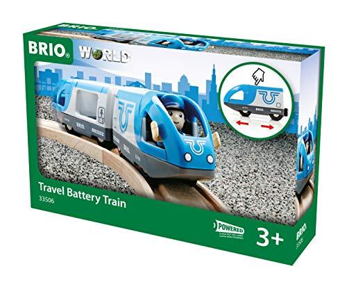 BRIO World - 33506 - TRAIN DE VOYAGEURS A PILE