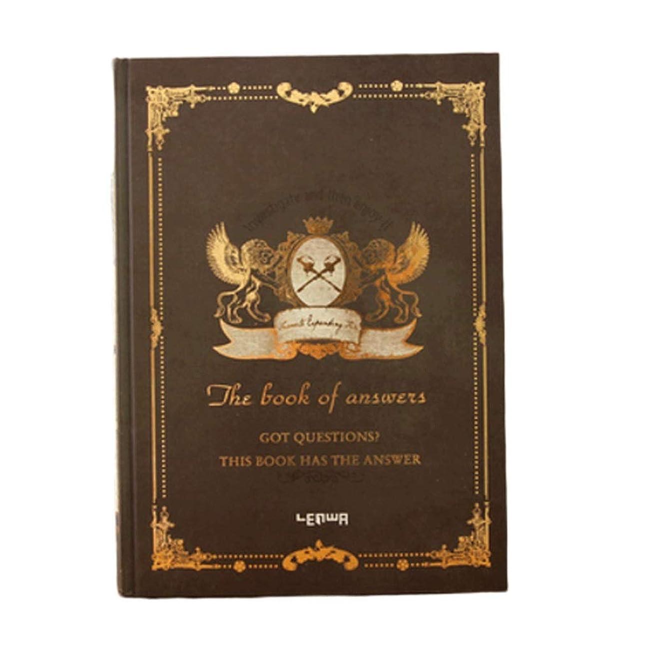 マーベル永久路地ノート ヨーロピアンスタイルのシックなレトロマジックブックノートブックステーショナリートランペットB5シッククリエイティブポータブルノートブックダイアリートラベラーズノートブック メモ帳 ノート (Color : Dark brown)
