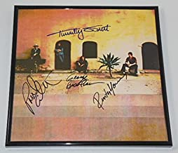 Poco Rose of Cimarron Group Signed Autographed Lp Record Album with Vinyl Framed Loa