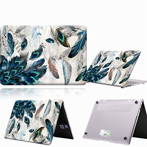 JUFENGYAO Multicolor Case Compatible with for HUAWEI MateBook D14 D15 2019 2020/14 /X Pro 13.9/Honor MagicBook 14/15 /Pro 16.1 Laptop Hard Cover (Color : A5, Size : Honor MagicBook 15)
