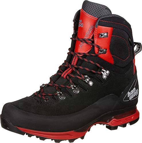 Hanwag Bottes randonnée Alverstone II GTX Black/Red 12 UK