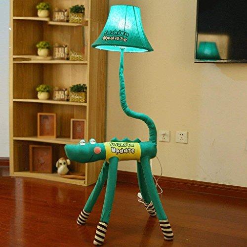 DSJ Staande lamp, cartoon met leuke creatieve verticale tafellamp, staande lamp, kinderkamer, prinses, slaapkamer, bedlamp, staande lamp