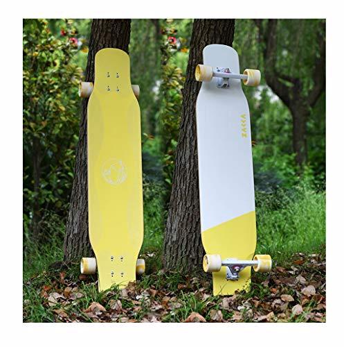 Great Price! XUEYING-KickScooter Longboard Boys and Girls Beginners Skateboard Flat Flower All-Aroun...