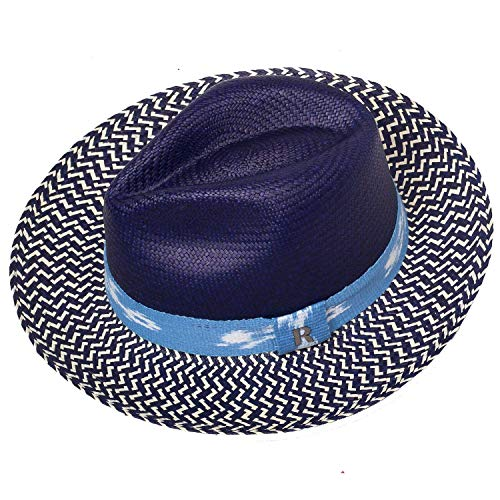 RACEU ATELIER Sombrero Panamá Twist Azul - Panama