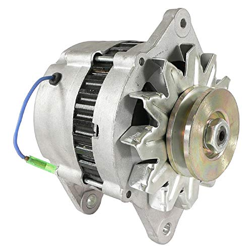 DB Electrical AHI0059 Alternator Compatible With/Replacement For Yanmar Marine Diesel Hi-Output 80 Amp 3Jh2 3Jh3 4Jh2 4Jh3 4Lh 6Ly Kbw20 Lr180-03 Lr180-03C 3Jh2Be 3Jh2E 84150 112375 4-6278 LR180-03A