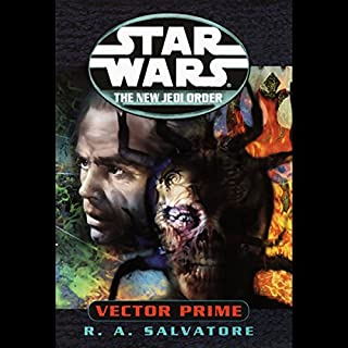 Star Wars: The New Jedi Order: Vector Prime audiobook cover art