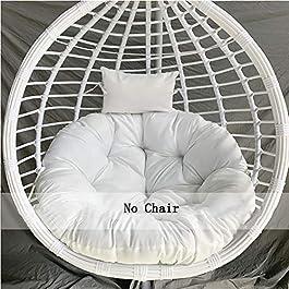 Chaise D'oeuf Soulement Panier Suspendu Coussin,surchargé Papasan Coussin De Chaise,supplémentaire-Confortable & Doux…