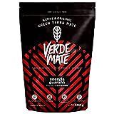 Verde Mate Green Energía 500g Yerba Mate Green con Guarana Yerba Mate Té de Brasil Yerba Mate con Cafeína Natural Sin gluten Sin humo