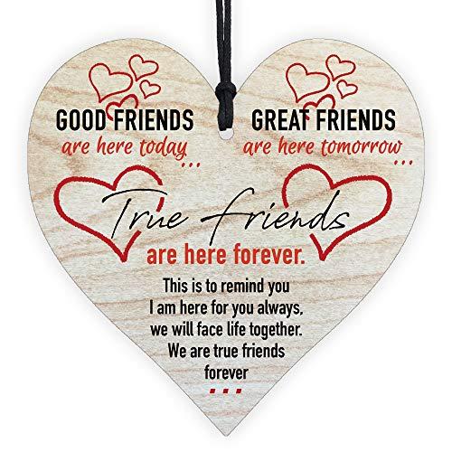 Best Friends Birthday Gifts For Her Women Bff Merchandise True Forever...