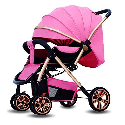 Baby Stroller, Compact Travel System Modular Stroller, City Hochlandschaft 0-3 Leichtbaus-Baby-Quad Allradantrieb Winter-und Sommer Vier Jahreszeiten Stroller