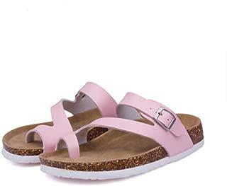 Womens Slides Sandals Shoes Leather Slippers Slip On Sandles Flip Flops Thongs