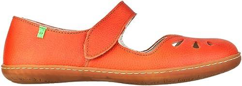 El Naturalista , Sandales Style Style Mary Janes pour Femme Rouge Sunset 37.5 EU  magasin de gros