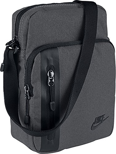 Nike Core Items 3.0 Bolsa de Hombro, Gris (Dark Grey/Black), Talla única