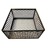 LavaLock Total Control BBQ Charcoal Basket Smoker Pit (fire Box) 15 x 15 x 8 Horizon New Braunfel Old Country