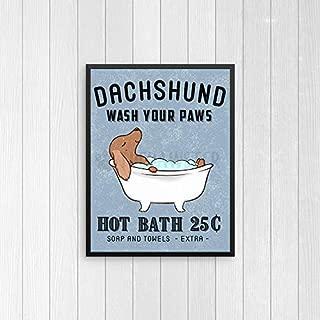 Best dachshund poster art Reviews