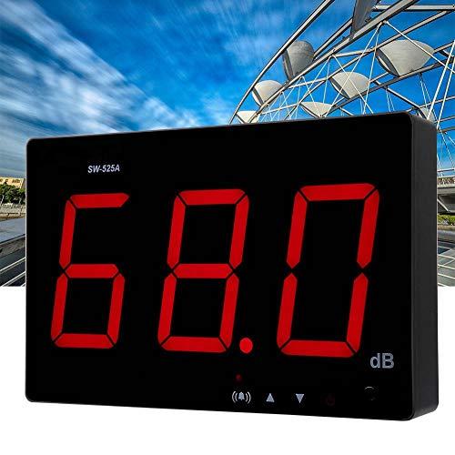 【𝐏𝐫𝐨𝐦𝐨𝐭𝐢𝐨𝐧 𝐝𝐞 𝐏â𝐪𝐮𝐞𝐬】An der Wand montiertes Dezibel-Messgerät, 30-130 dB LCD-Display USB-Schallpegelmesser-Rauscherkennungstester