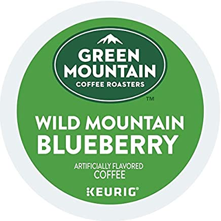 Includes Green Mountain Coffee Roasters Wild Mountain Blueberry Coffee K-Cups, 24 Count Box