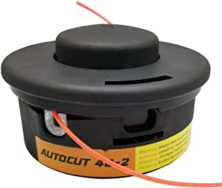 LUCKYHH Línea de alimentación para cortacésped para Stihl Autocut 40-2 FS160 FS220 FS280 FS350 FS400 FS460 FS480 Reemplazo M12 x 1,5 mm rosca izquierda