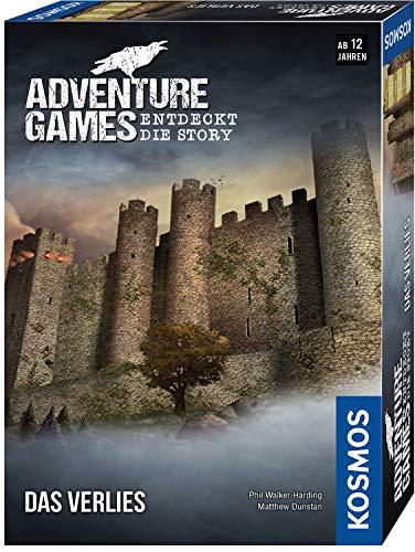 Kosmos 695088 - Adventure Games - Das Verlies. Entdeckt die Story, Kooperatives Gesellschaftsspiel, für 1 bis 4 Spieler, ab 12 Jahre, spannendes Abenteuer-Spiel