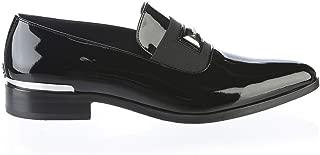 6800 ItalianDesigner Black Patent Leather Tuxido Man Shoes