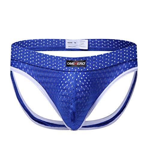 Billtop Mens Jockstrap Mesh Pouch Athletic Supporters Underwear for Men