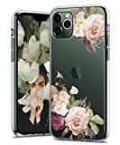 BSLVWG Clear Case For iPhone 11 Pro,flower Floral Flower