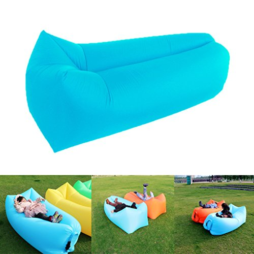 Veloce Gonfiare reclinabile per Spiaggia / aria esterna Divanoletto Mobili portatile / impermeabile / tessuto di nylon del sacchetto di fagiolo,per l'estate campeggio / Spiaggia / Dormire Indoor / Trampolino
