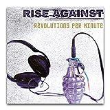 Rise Against S Album-Cover – Umdrehungen pro Minute