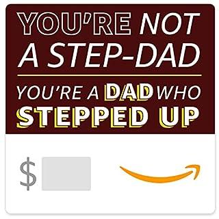 Amazon eGift Card - Stepped Up Dad (B094Q9F5QT)   Amazon price tracker / tracking, Amazon price history charts, Amazon price watches, Amazon price drop alerts