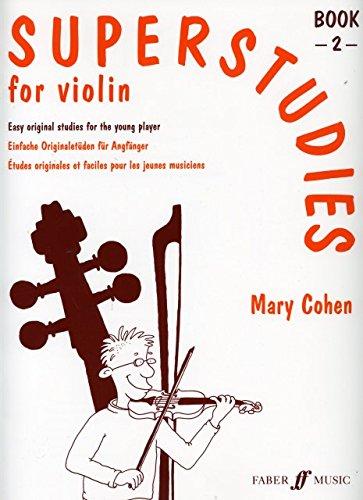 SUPERSTUDIES 2 - arrangiert für Violine [Noten / Sheetmusic] Komponist: COHEN MARY