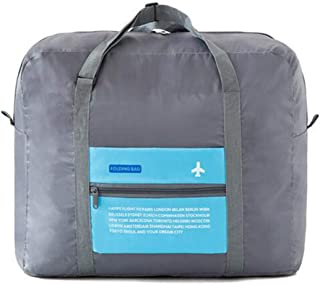 Owner Polyester Fiber Weekender Bag Overnight Carry-on Tote Duffel in Trolley Handle