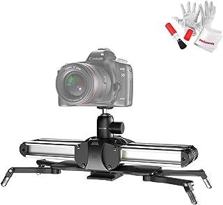 Zeapon Micro 2 カメラスライダー スライダーレールシステム ビデオ撮影/タイムラプス用 2倍の可動距離 最大ペイロード8kg 一貫性速度 自動ロック アルミ合金製 ビデオカメラ/デジタル一眼レフに対応 EasyLock 2同梱 (...