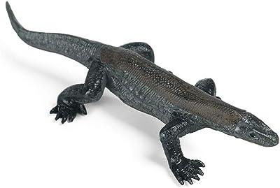 Hiawbon Wild Animal Komodo Dragon Educational Figurine Realistic Plastic Lizard Replica Hand Painted Figurine