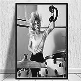 zszy Poster Drucke Lady gaga Poster Popstar Musik Sänger