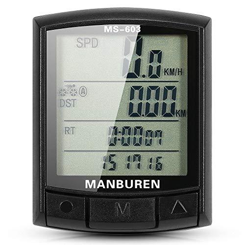 Computadora De BicicletaBicicleta Velocímetro Cuentakilómetros MTB Bicicleta De Pista Ciclismo Computadora Cronómetro...